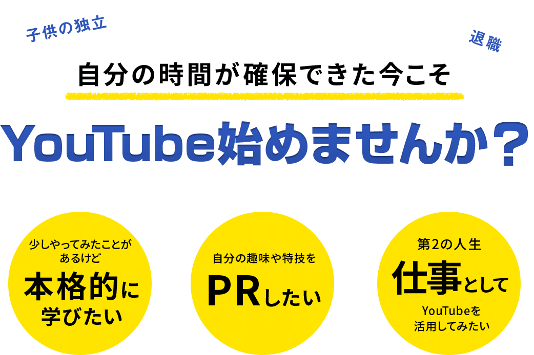 YouTube始めませんか?